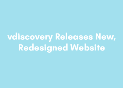vdiscovery Releases New, Redesigned Website